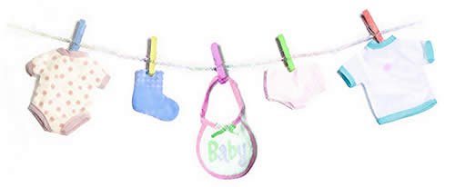 Lynn 39 s baby shower for Baby clothesline decoration baby shower